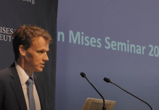 """Mises-Seminar 2020: """"Grundsätze der Volkswirtschaftslehre"""" (Vortrag 1)"""
