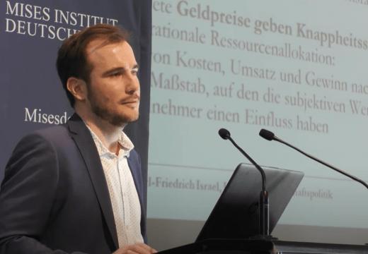 """Mises-Seminar 2020: """"Die Gemeinwirtschaft"""" (Vortrag 4)"""