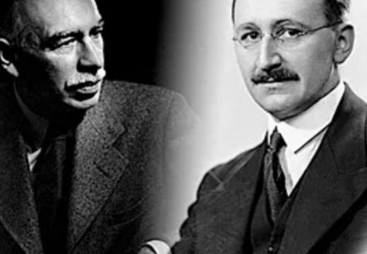 Hayek contra Keynes