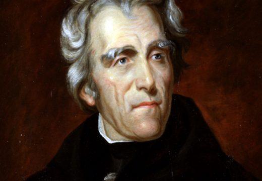 """General Andrew Jackson: """"Nationale Schulden sind ein Fluch. Und wenn ich Präsident wäre, würde ich sie zurückzahlen."""""""